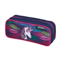 Пенал Rainbow Unicorn 2 молнии
