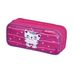 Пенал Princess Cat 2 молнии