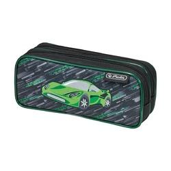 Пенал Green Car 2 молнии