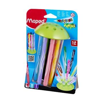 Фломастеры Maped Jungle Innovation, 12 шт.