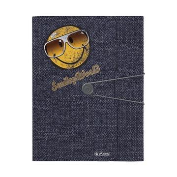 Папка с резинкой Smiley Jeans to go
