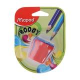 Точилка Maped Boogy, 2 отверстия, с контейнером, блистер
