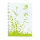 Тетрадь Green, А4, 70л, клетка, 90г/м2