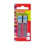 Грифели для мех.карандаша, HB, 0.7мм, 2х12шт