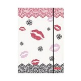 Папка с резинкой Kiss, А4