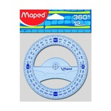 Транспортир Maped Graphic, 12см