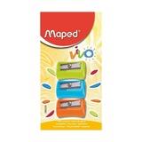 Точилка Maped Vivo, 3 шт